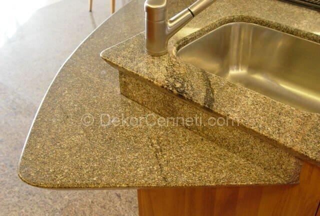 Harika granit mutfak tezgahları nasıl parlatılır Modelleri