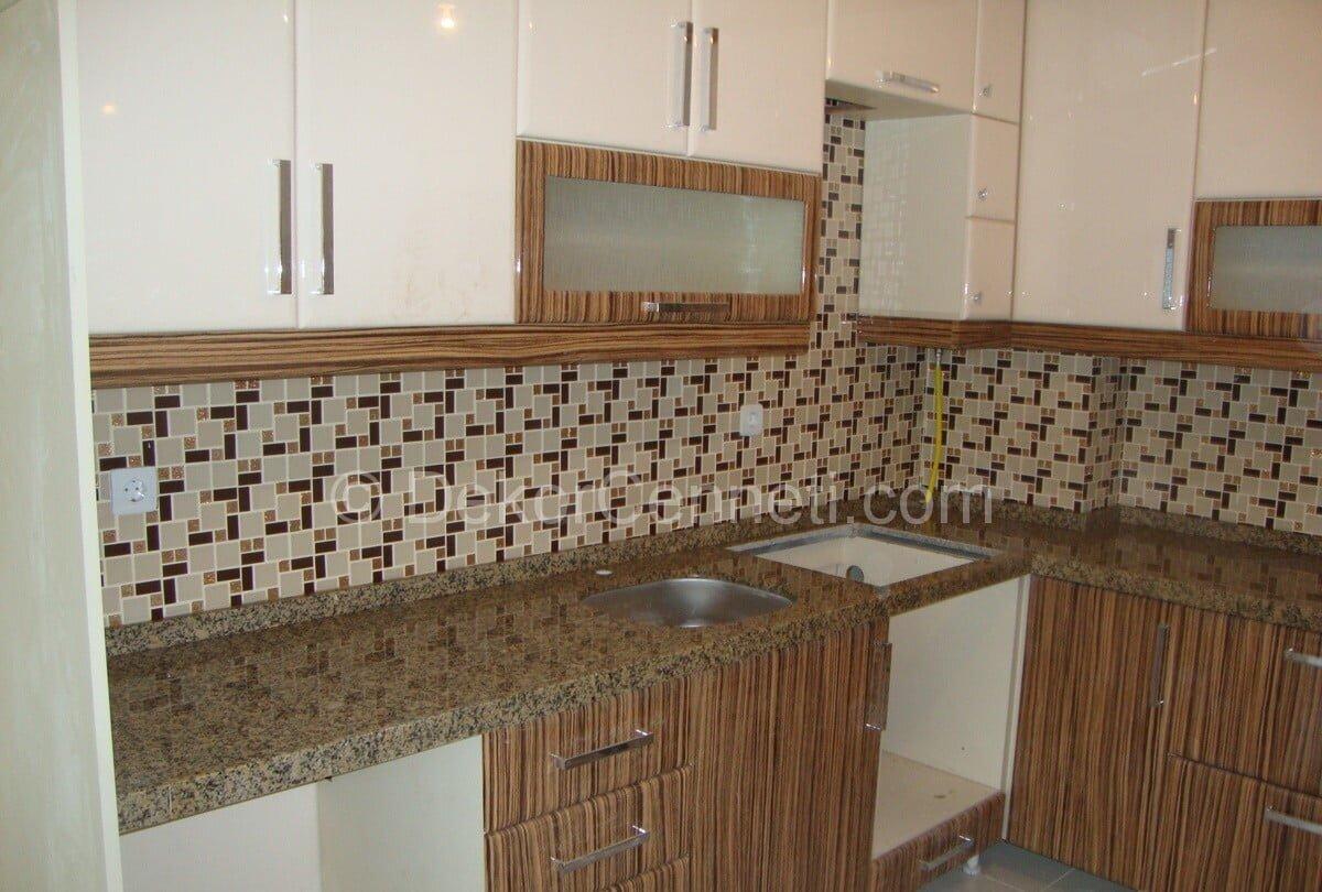 Harika granit mutfak tezgahları renkleri Resimleri