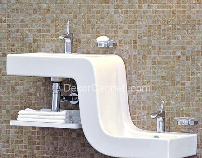 Harika ikili lavabo Resimleri