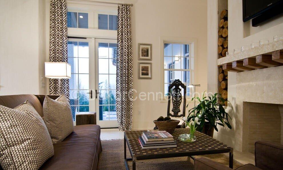 Harika oturma odası dekorasyonu Fotoğrafları