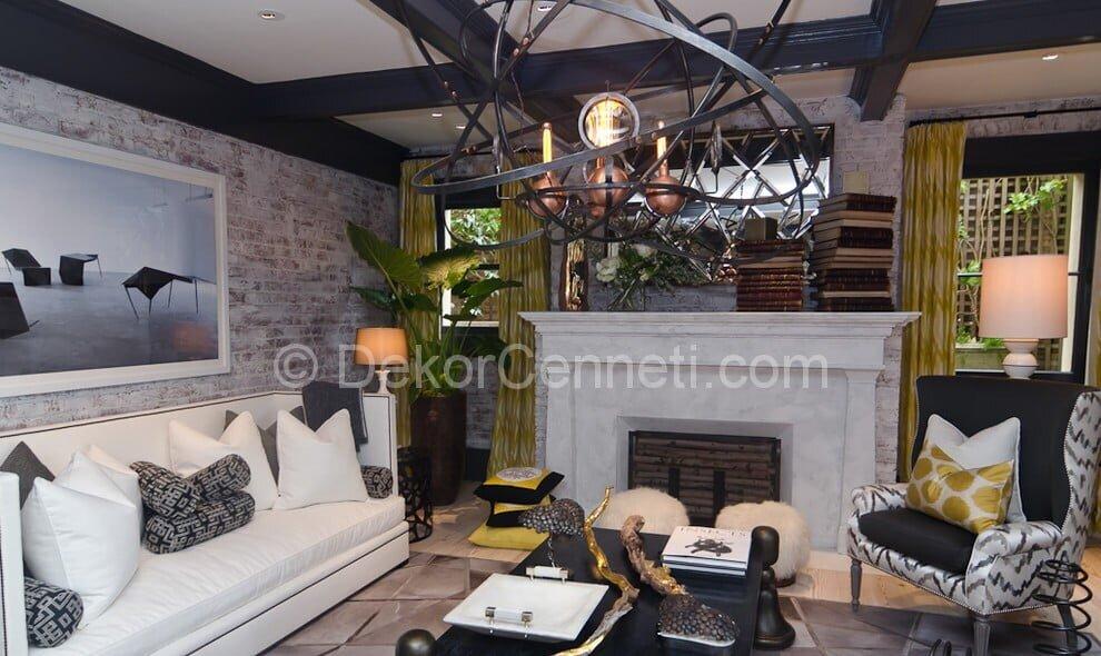 Harika salon halı dekorasyon Modelleri