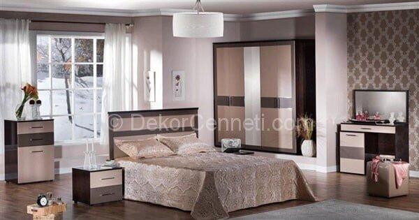 Harika yatak odası renk değiştirme Fotoğrafları