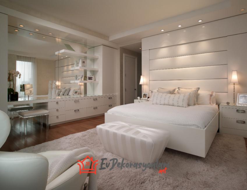 Hayranlık Uyandıracak Yatak Odası Dekorasyonları