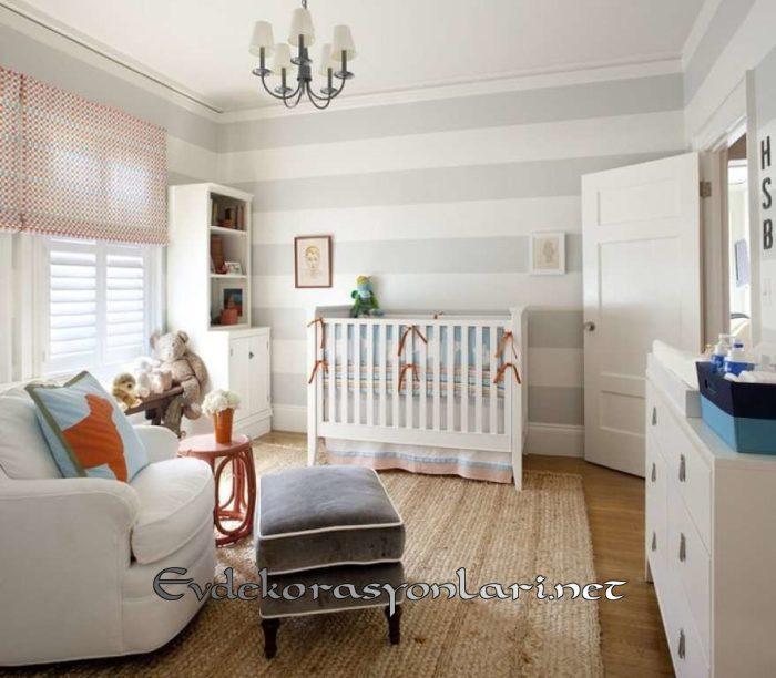 ideal bebek odasi dekorasyon modeli