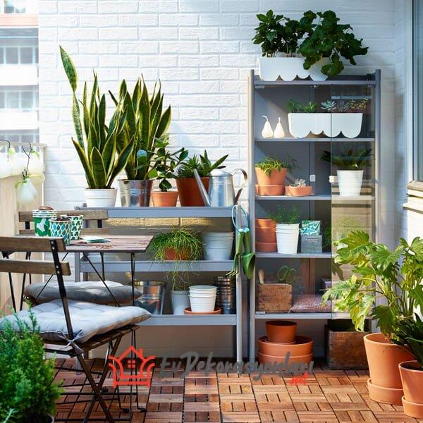 2019 Rahat Ve Kullanışlı İkea Bahçe Mobilyaları