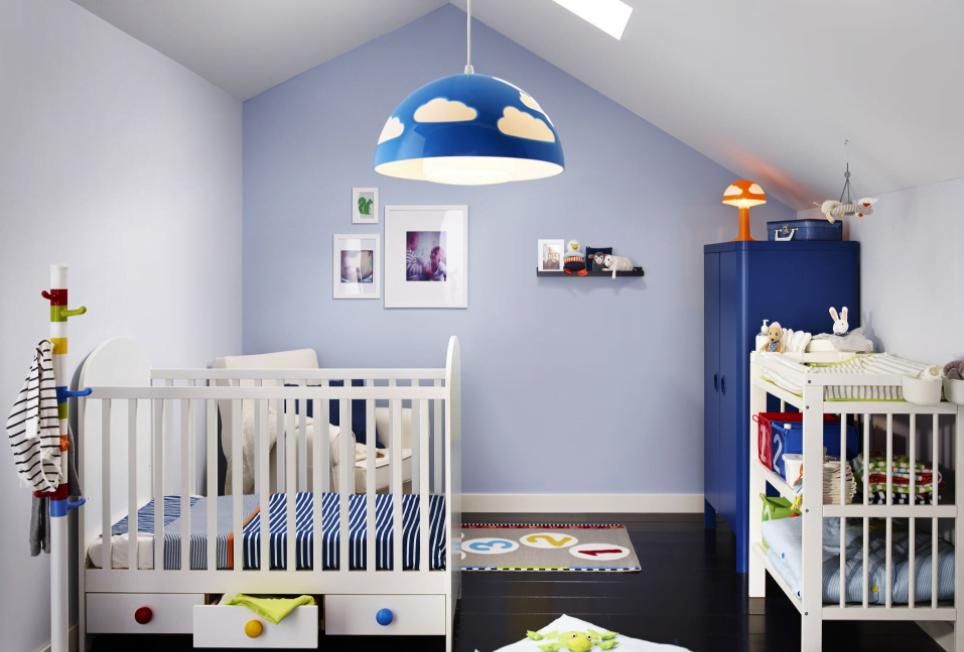 Ikea Bebek Odası Dekorasyonu