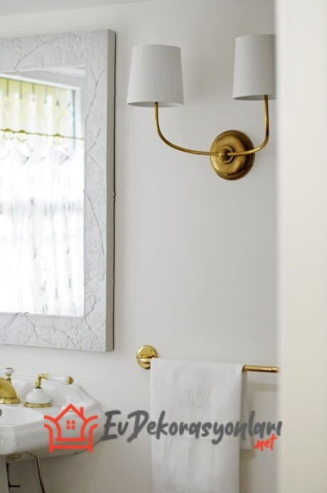ikili dekoratif duvar aplik modeli