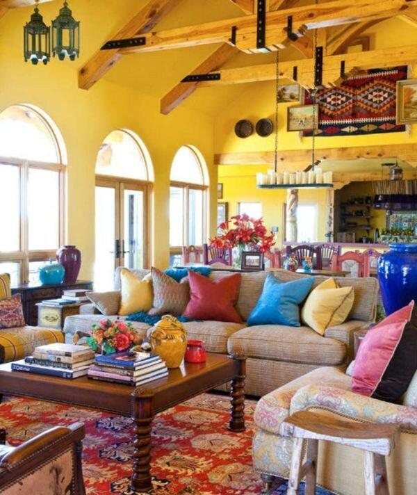 İlginç Tasarımlı Oturma Odası Ev Dekor Örnekleri