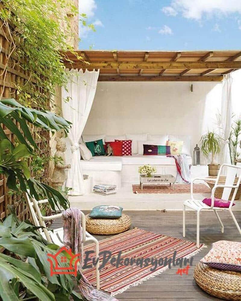 İlginç Teras ve Balkon Dekorasyonları
