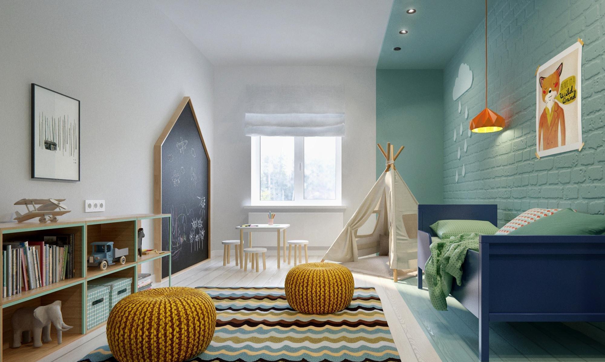 İskandinav Tarzı Çocuk Odası Dekorasyonları