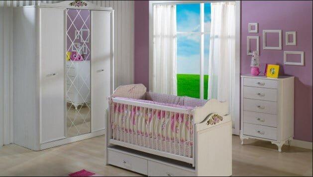 istikbal mobilya arya bebek odasi takimi modeli