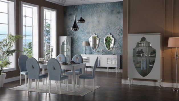 istikbal mobilya baron yemek odasi takimi modeli