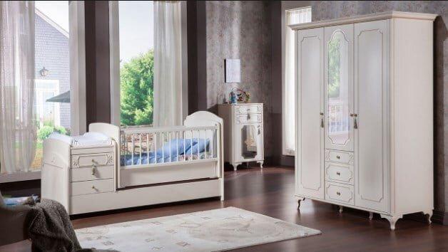 istikbal mobilya gold bebek odasi takimi modeli