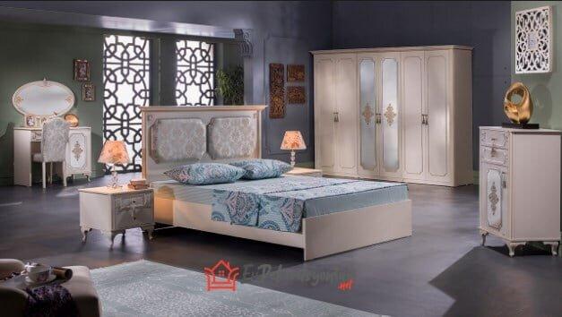 istikbal mobilya gold yatak odasi takimi modeli