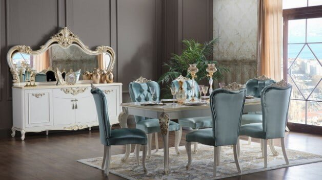 istikbal mobilya gusto yemek odasi takimi modeli