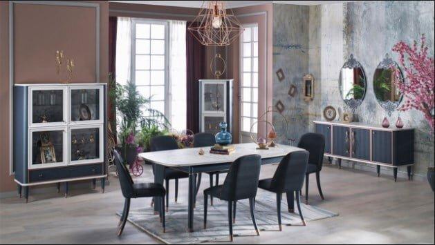 istikbal mobilya lucas yemek odasi takimi modeli