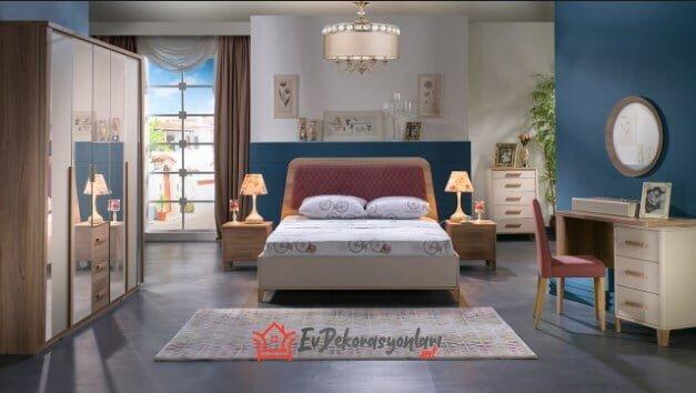 istikbal mobilya orleon yatak odasi takimi modeli