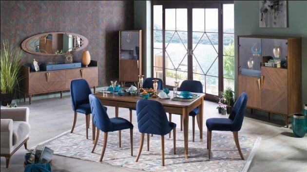 istikbal mobilya palma yemek odasi takimi modeli