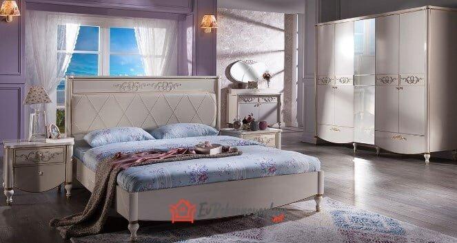 istikbal mobilya rustic yatak odasi takimi modeli