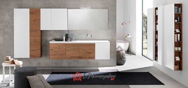 italyan banyo dolap modelleri 2019
