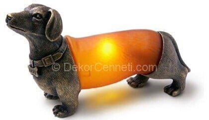 köpek şeklinde gece lambası