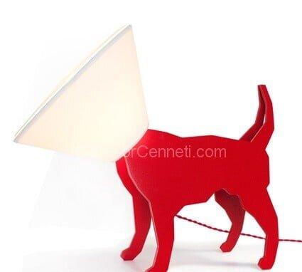 köpek figürlü abajur