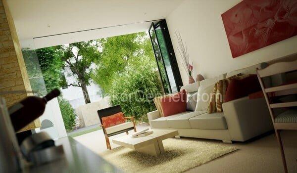 küçük oturma odaları için dekorasyon örnekleri