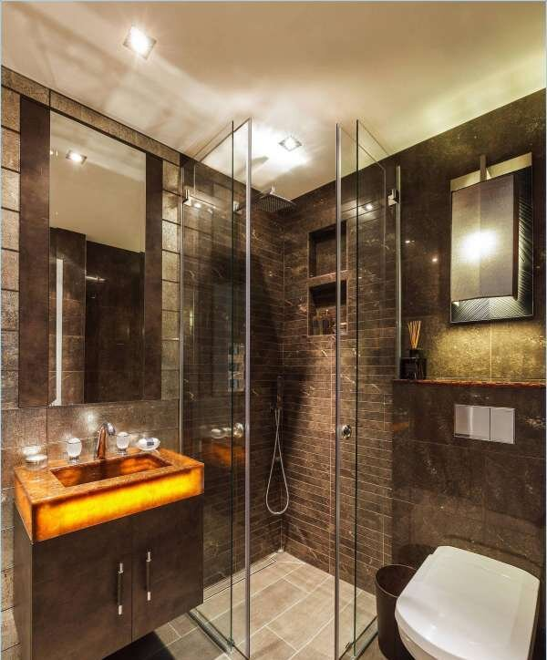 kahverengi-banyo-modelleri-dekorasyonu