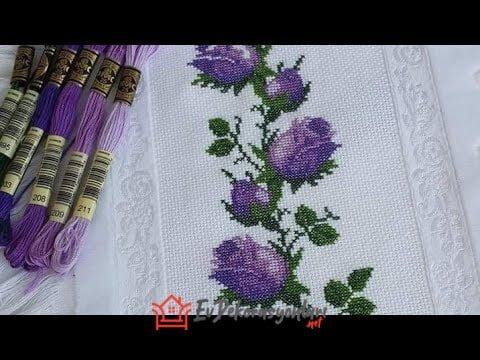 Kanaviçe Havlu Modelleri ve Örnekleri