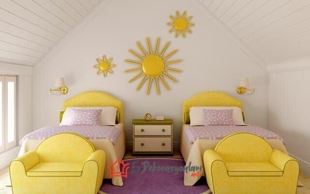 kardes odasi dekorasyon modelleri 2019