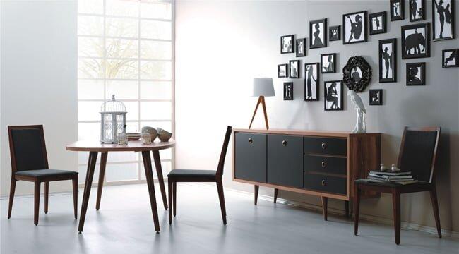 kelebek mobilya modern yemek odası modelleri