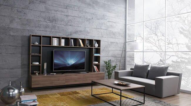 kelebek mobilya tv ünitesi modelleri