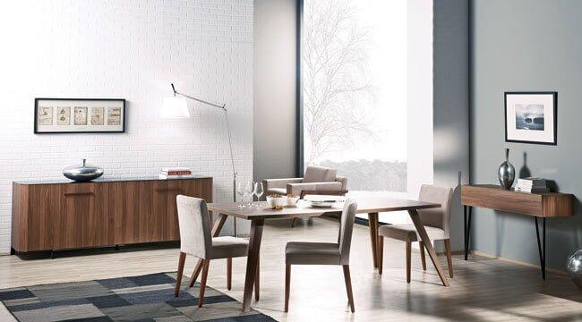 kelebek mobilya yemek odası modelleri (2)