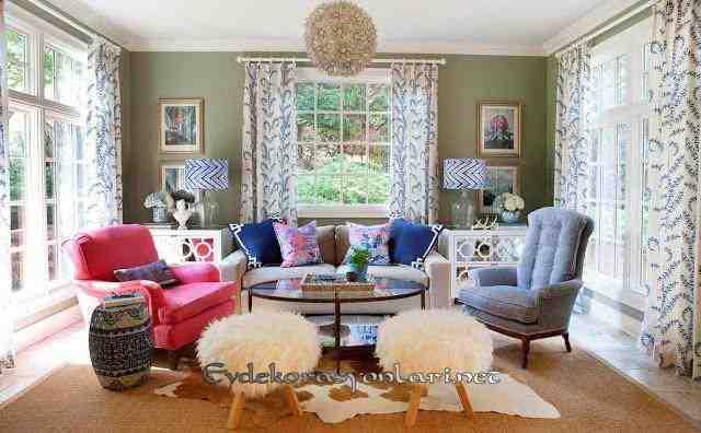 2019 En Güzel Oturma Odası Dekorasyon Modelleri