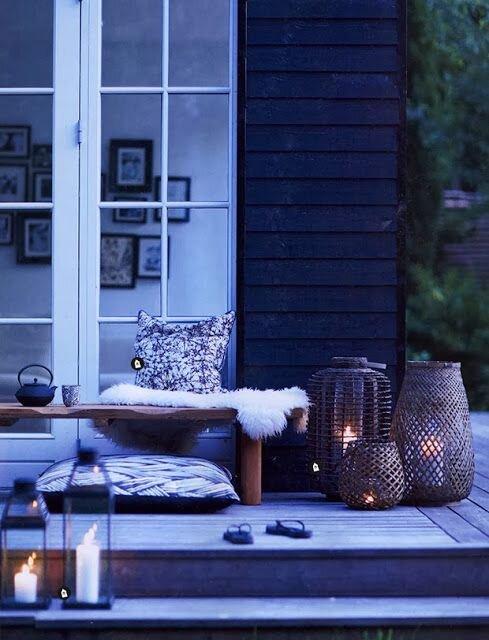 kis balkonu dekorasyon fikirleri
