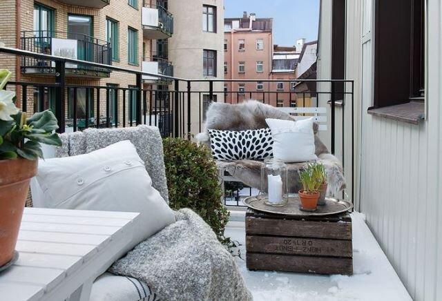 kis dekorasyonlu balkon ornekleri 2019