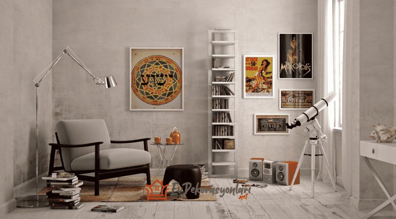 Kitap Okuma Odası Dekorasyonu Nasıl Olmalı?