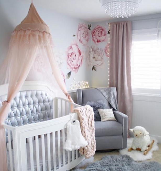 Kız Bebek Odası Dekorasyonları