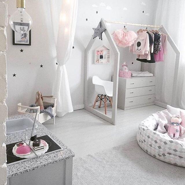 kiz cocuk odasi dekorasyon ornekleri 2019