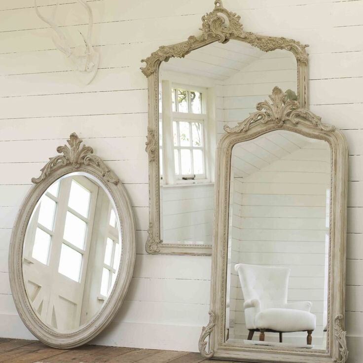 klasik ahsap oymali dekoratif duvar aynasi modelleri