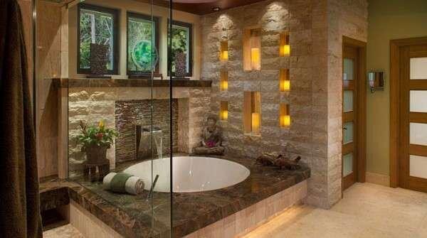 klasik-cakil-tasi-rengi-banyo-dekorasyonlari