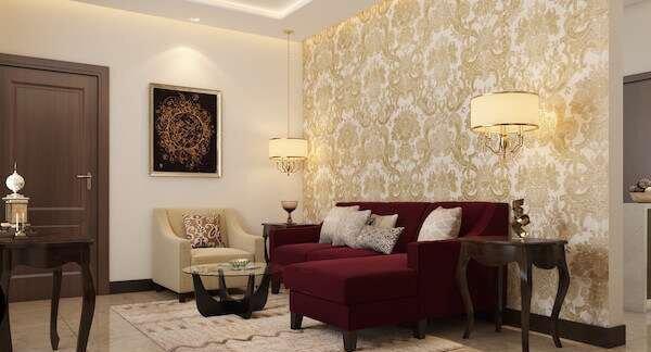 klasik-salon-dekorasyonunda-renk-uyumu
