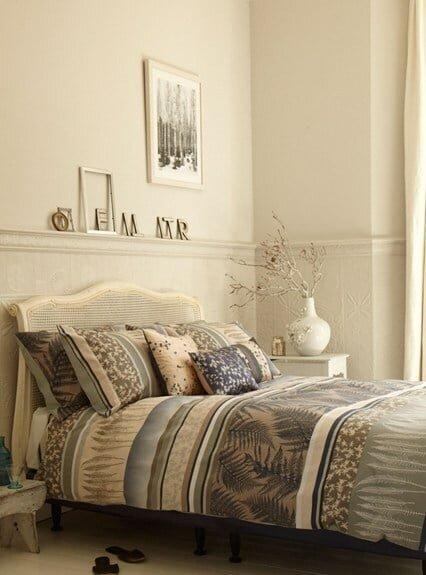 klasik yatak odası dekorasyon örnekleri