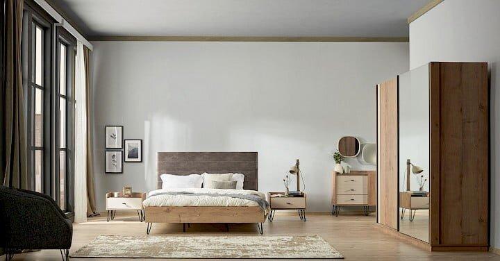 konfor mobilya bass yatak odasi takimi modeli
