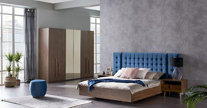konfor mobilya carpinus yatak odasi takimi modeli
