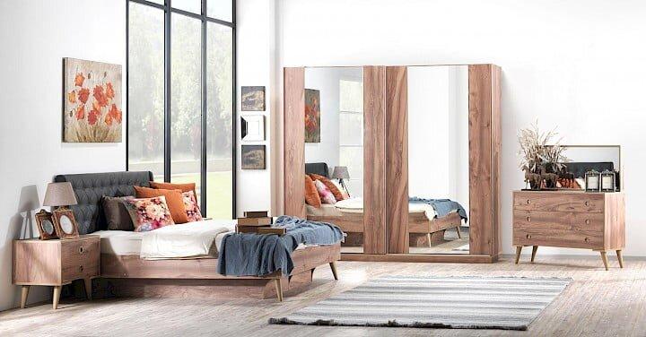 konfor mobilya haris yatak odasi takimi modeli
