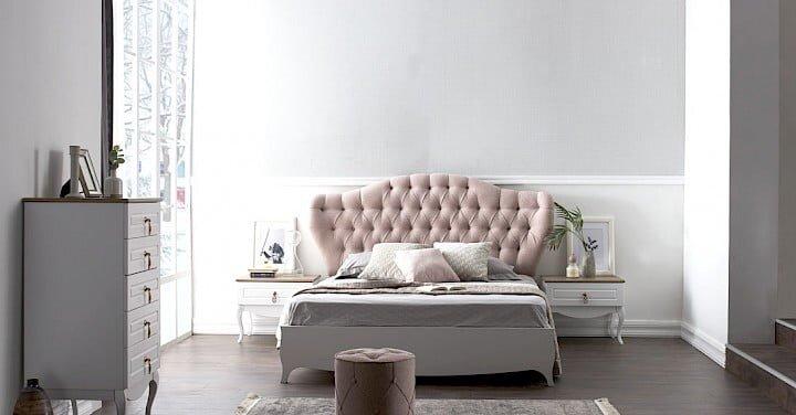 konfor mobilya lavera yatak odasi takimi modeli