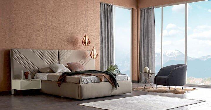 konfor mobilya vilevu yatak odasi takimi modeli
