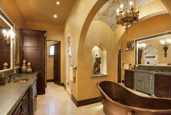 koyu-cakil-tasi-rengi-banyo-dekorasyonlari