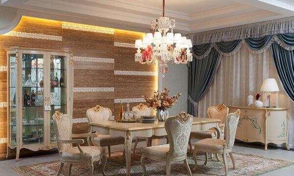 krem-rengi-klasik-yemek-odasi-takimlari